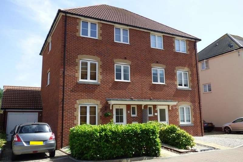 4 Bedrooms Semi Detached House for sale in Blue Cedar Close, Yate, Bristol
