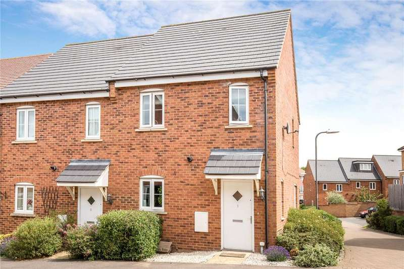 2 Bedrooms Semi Detached House for sale in Campbell Lane, Pitstone, Leighton Buzzard, LU7