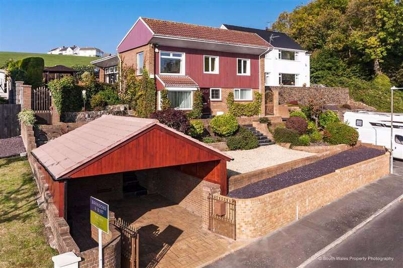 4 Bedrooms Detached House for sale in Jovale, Maes Y Coed, The Knap, Barry, Vale Of Glamorgan