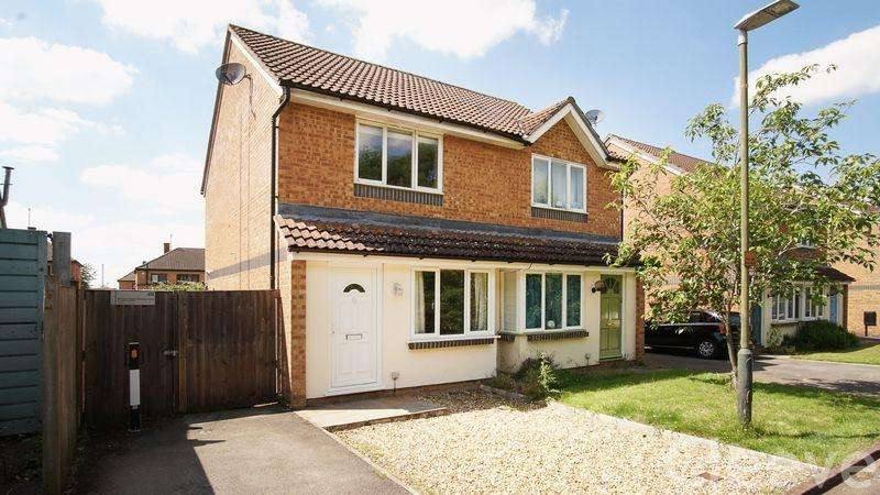 2 Bedrooms Semi Detached House for sale in Oxmead Close, Bishops Cleeve