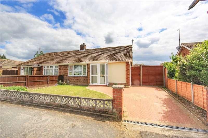 2 Bedrooms Semi Detached Bungalow for sale in Pot Kiln Road, Great Cornard