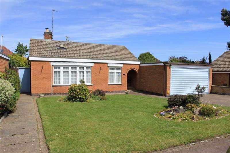 2 Bedrooms Detached Bungalow for sale in Woodville Gardens, Wigston, Leicestershire
