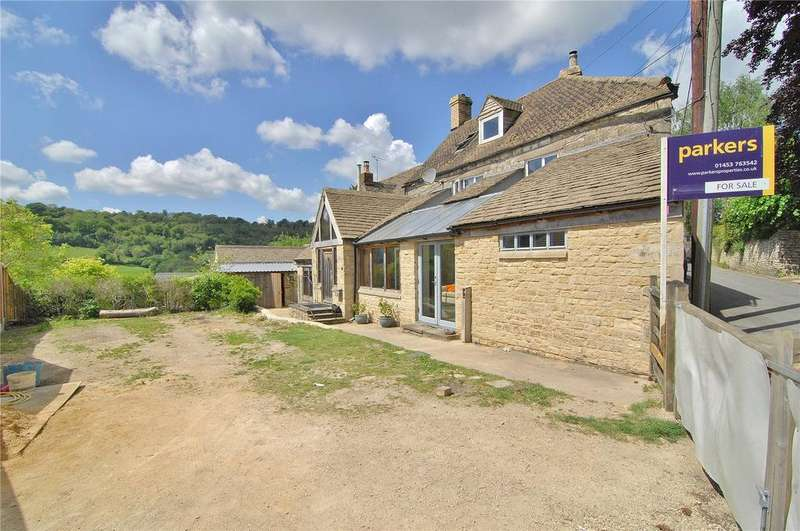 4 Bedrooms Semi Detached House for sale in Thrupp Lane, Thrupp, Stroud, Gloucestershire, GL5