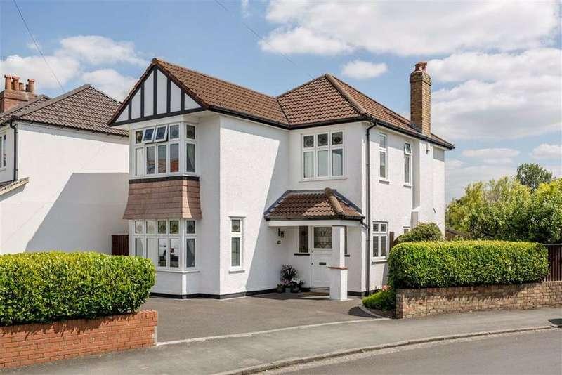4 Bedrooms Detached House for sale in Cairns Road, Redland, Bristol