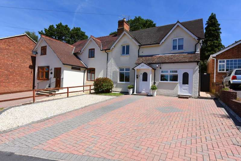 4 Bedrooms Semi Detached House for sale in Chiltern Road, Sandhurst