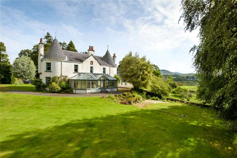 5 Bedrooms Detached House for sale in Balnald Lodge, Kirkmichael, Blairgowrie, Perthshire, PH10