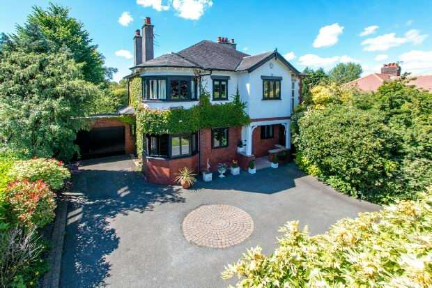 5 Bedrooms Detached House for sale in Delahays Road, Hale