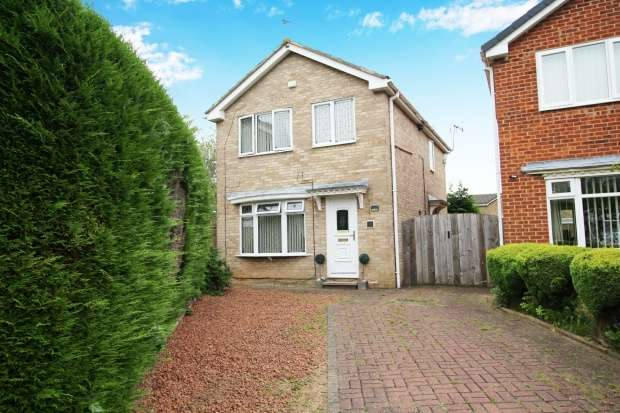 3 Bedrooms Detached House for sale in Annfield Close, Billingham, Cleveland, TS23 2TA
