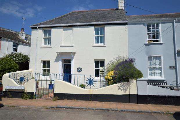 4 Bedrooms End Of Terrace House for sale in Albion Street, Shaldon, Devon