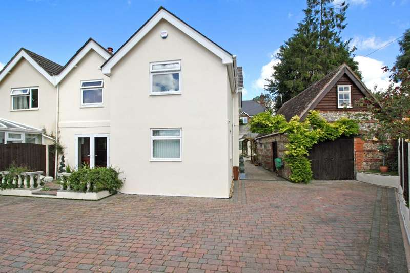 4 Bedrooms Semi Detached House for sale in Salisbury Road, Pimperne