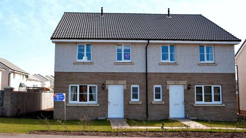 2 Bedrooms Semi Detached House for sale in 127 Montrose Road, Arbroath, Angus, DD11