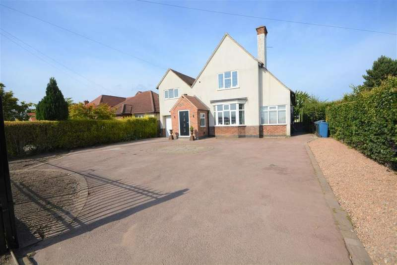 4 Bedrooms Detached House for sale in Loughborough Road, Bradmore