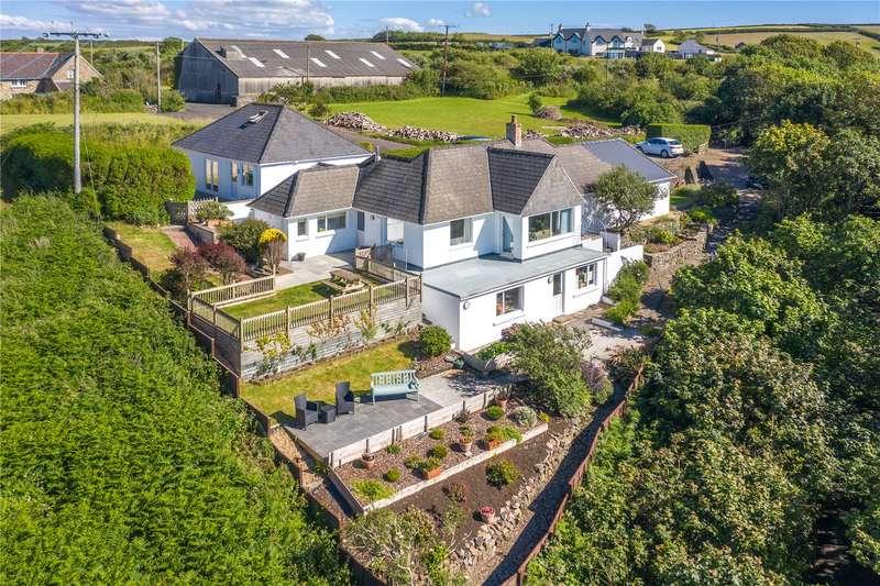 6 Bedrooms Detached Bungalow for sale in Heddfan, Little Haven, Haverfordwest, Pembrokeshire