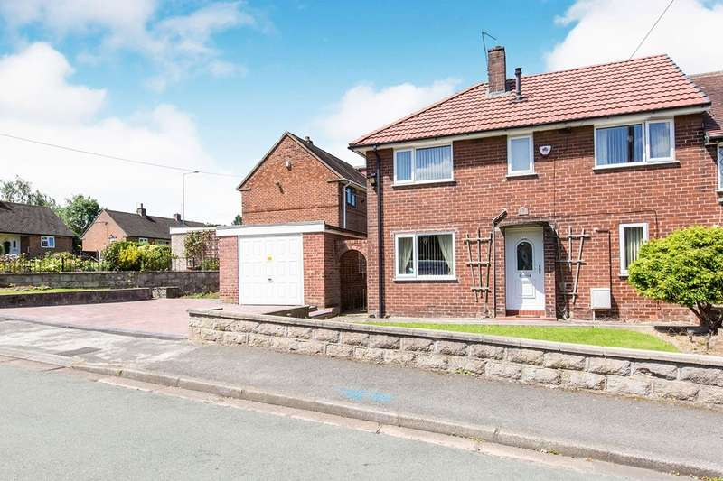 3 Bedrooms Semi Detached House for sale in Woolston Avenue, Congleton, Cheshire, CW12