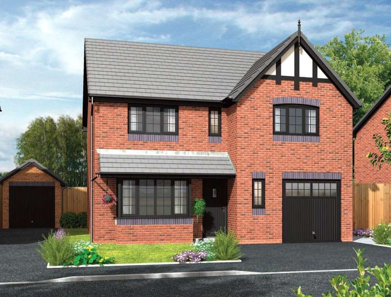 4 Bedrooms Detached House for sale in Forge Lane, Congleton, Cheshire, CW12