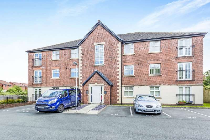 2 Bedrooms Apartment Flat for sale in Kings Court Regency Walk, Middlewich, Cheshire, CW10