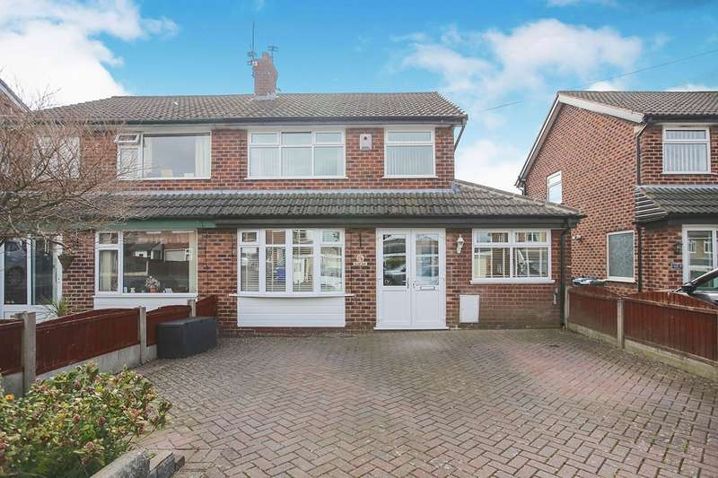 3 Bedrooms Semi Detached House for sale in Hillary Road, Hyde, Cheshire, SK14