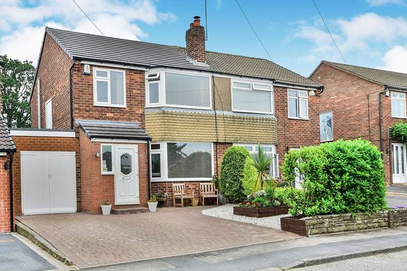 3 Bedrooms Semi Detached House for sale in Westbury Drive, Macclesfield, Cheshire, SK11