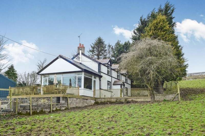 4 Bedrooms Detached House for sale in Llanfairtalhaiarn, Abergele, Clwyd, LL22