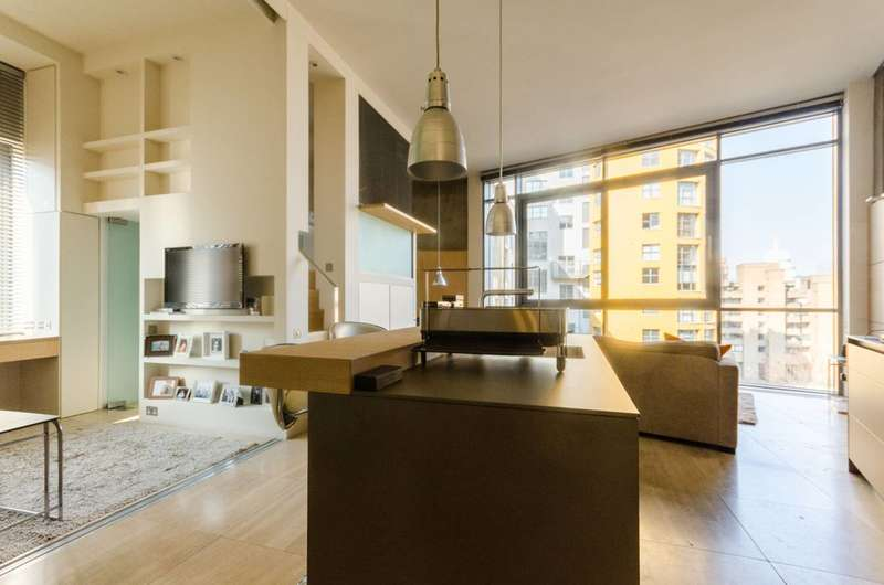 2 Bedrooms Flat for sale in Gallery Lofts, South Bank, SE1