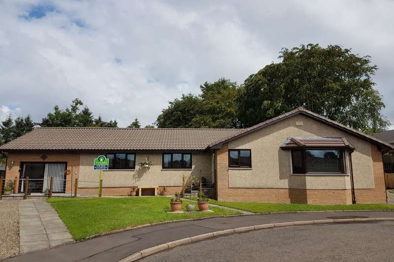 5 Bedrooms Detached Bungalow for sale in Lythgow Way, Lanark, ML11
