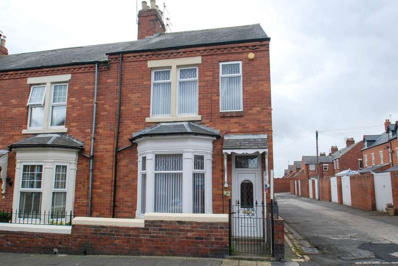 3 Bedrooms Terraced House for sale in Banbury Terrace, South Shields