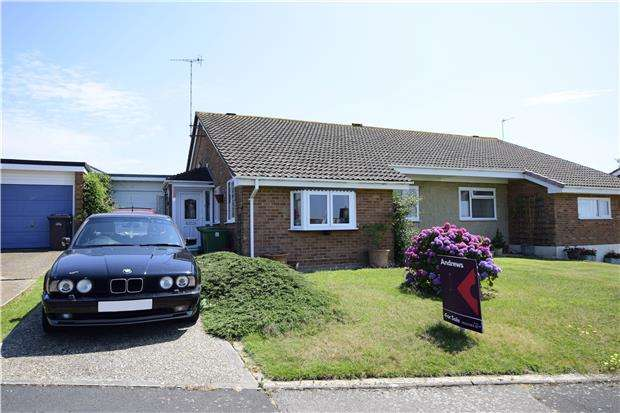 3 Bedrooms Semi Detached Bungalow for sale in St. Dominic Close, ST LEONARDS-ON-SEA, East Sussex, TN38 0PH