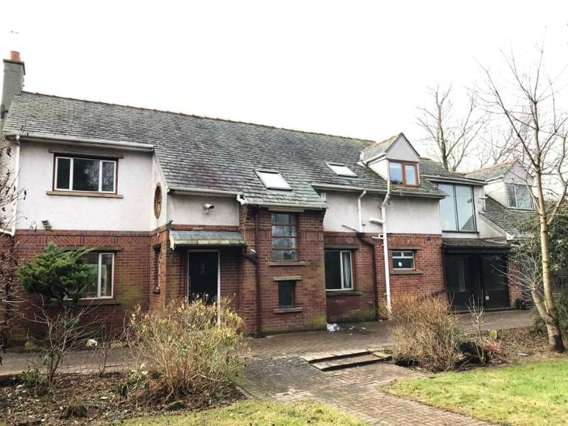 4 Bedrooms Detached House for sale in House & Outbuildings Brentwood House, Midgeland Road, Blackpool, Lancashire