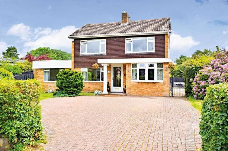 4 Bedrooms Detached House for sale in Knoll Park , Ayr , South Ayrshire , KA7 4RH