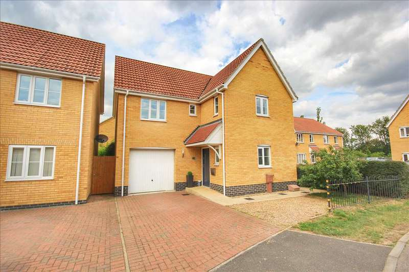 4 Bedrooms Detached House for sale in Lower Reeve, Great Cornard