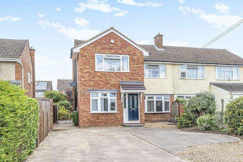 4 Bedrooms Semi Detached House for sale in Oliver Street, Ampthill