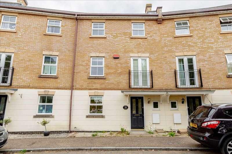 5 Bedrooms Town House for sale in Allington Circle, Kingsmead, Milton Keynes