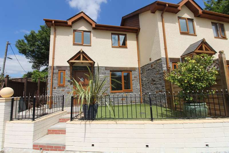 3 Bedrooms Semi Detached House for sale in Bethal Place, Nantyglo, NP23