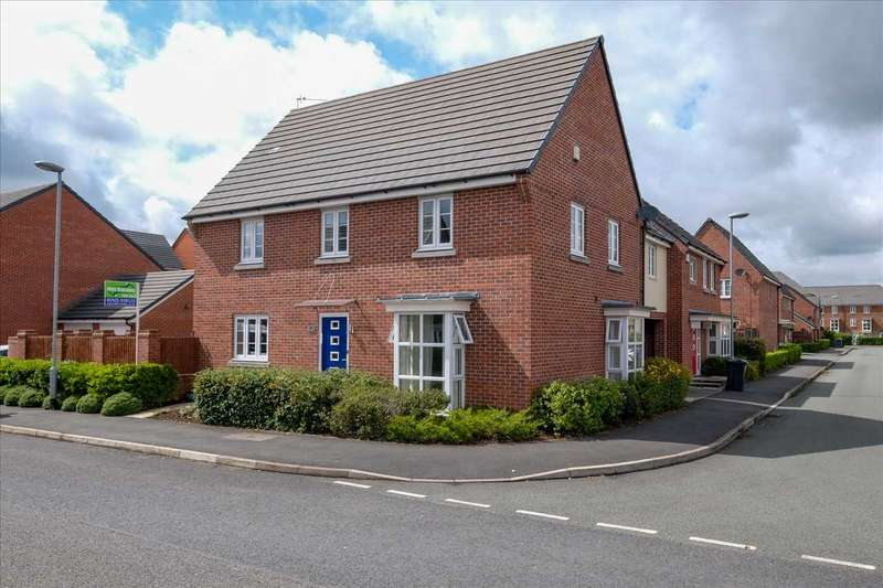 4 Bedrooms Detached House for sale in Jefferson Drive, Chapelford, Warrington