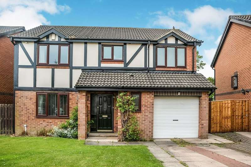 3 Bedrooms Detached House for sale in The Glade, Abbey Farm, North Walbottle, Newcastle Upon Tyne, NE15
