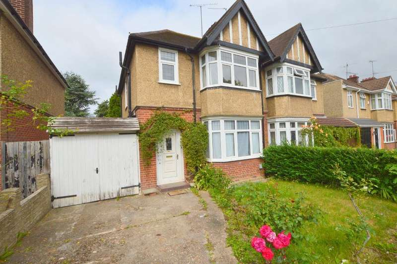 3 Bedrooms Semi Detached House for sale in Wychwood Avenue, Old Bedford Road Area, Luton, Bedfordshire, LU2 7HT