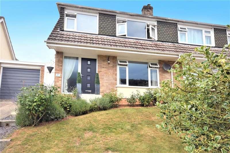 3 Bedrooms Semi Detached House for sale in Kings Castle Road, Wells, Somerset, BA5