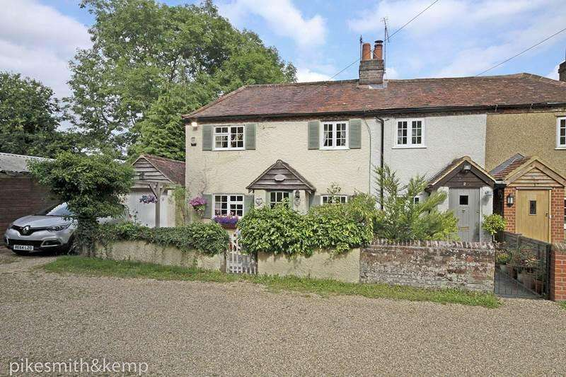 3 Bedrooms Semi Detached House for sale in Old Kiln Cottages, PINKNEYS GREEN, SL6