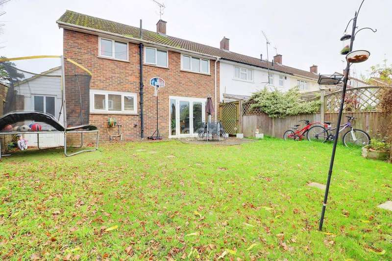 4 Bedrooms End Of Terrace House for sale in South Lynn Crescent, Bracknell