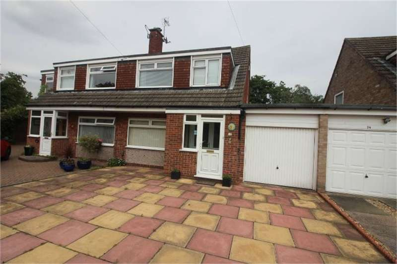 3 Bedrooms Semi Detached House for sale in Buckfast Drive, FORMBY, Liverpool, Merseyside