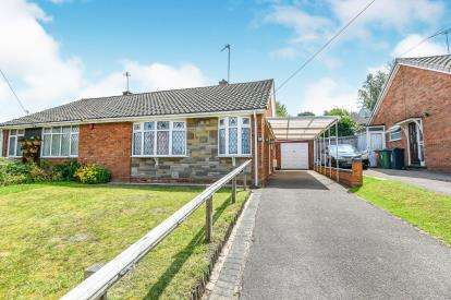 2 Bedrooms Bungalow for sale in Clover Hill, Orchard Hills, Walsall