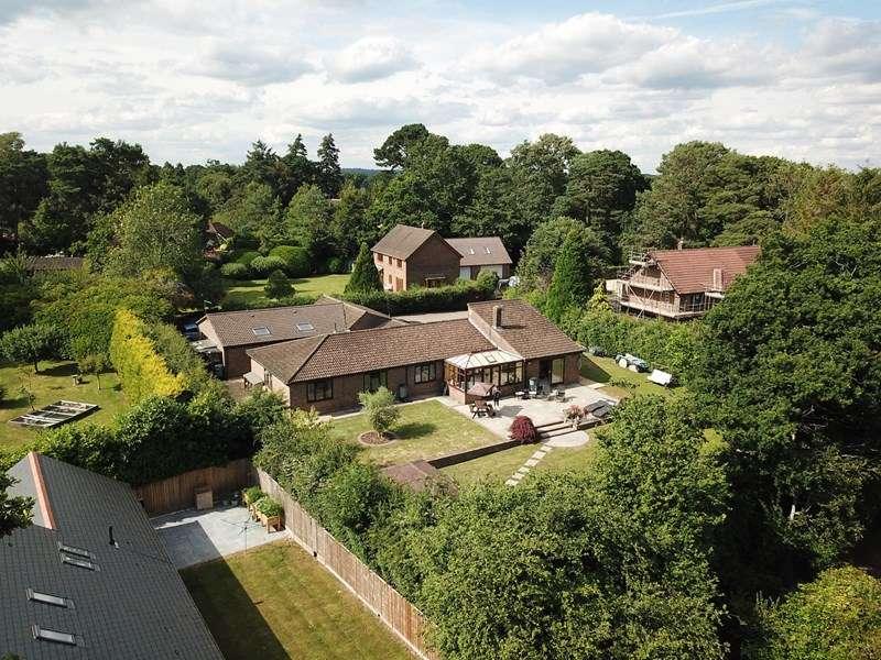 4 Bedrooms Detached Bungalow for sale in New Forest Drive, Brockenhurst