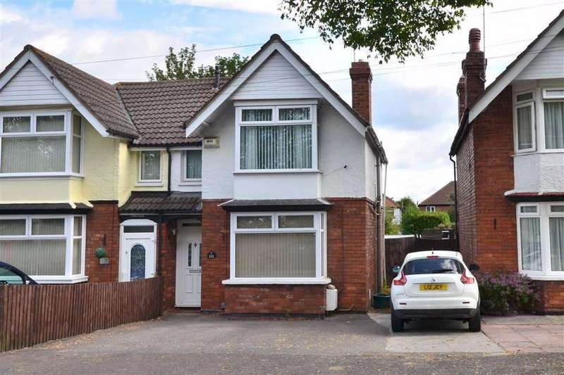 3 Bedrooms Semi Detached House for sale in Tuffley Avenue, Linden, Gloucester, GL1