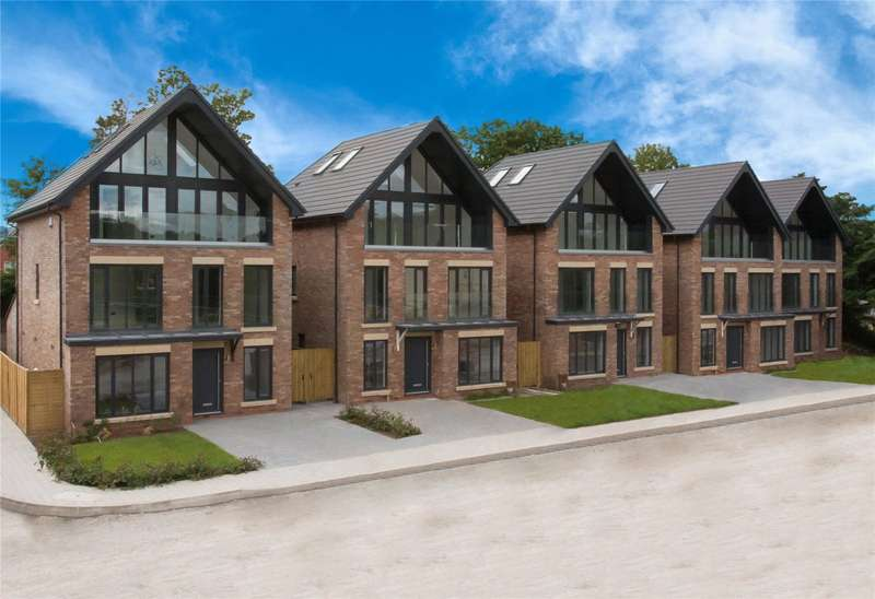 4 Bedrooms Detached House for sale in Mere View, Astbury Mere, CW12