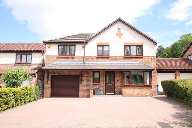 5 Bedrooms Detached House for sale in Ladywood Park, Mount Pleasant, Houghton Le Spring, DH4