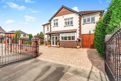 4 Bedrooms Detached House for sale in Woodsmoor Lane, Woodsmoor, Stockport, Cheshire