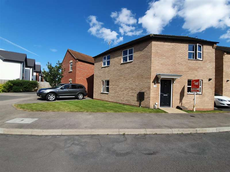 3 Bedrooms Link Detached House for sale in Pearl Gardens, Warsop, Mansfield