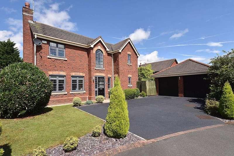 4 Bedrooms Detached House for sale in Lockwood View, Preston Brook