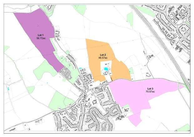 Land Commercial for sale in Luton Road, Caddington