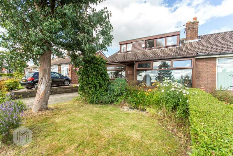 5 Bedrooms Semi Detached Bungalow for sale in Molyneux Road, Westhoughton, Bolton, Greater Manchester, BL5